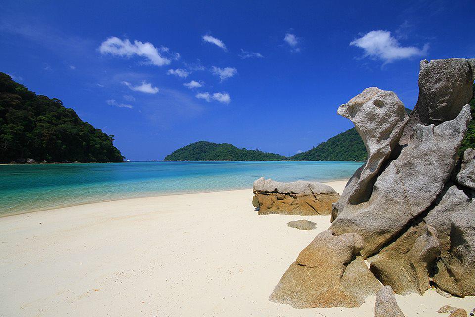 Paradis ferie i Thailand