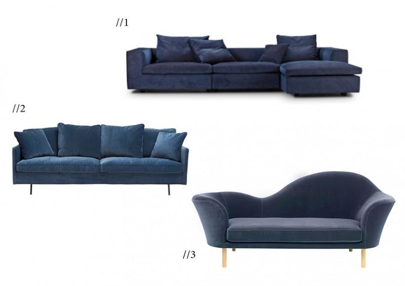 Velour sofaer eilersen
