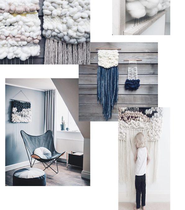 OH SO BLUE – VÆG DEKORATION