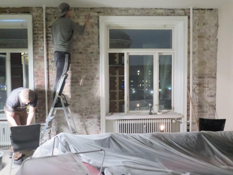 DIY murstensvæg